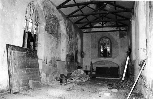 St Lawrence's hall pre-restoration circa 1992
