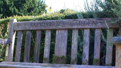 Sacristan Garden bench